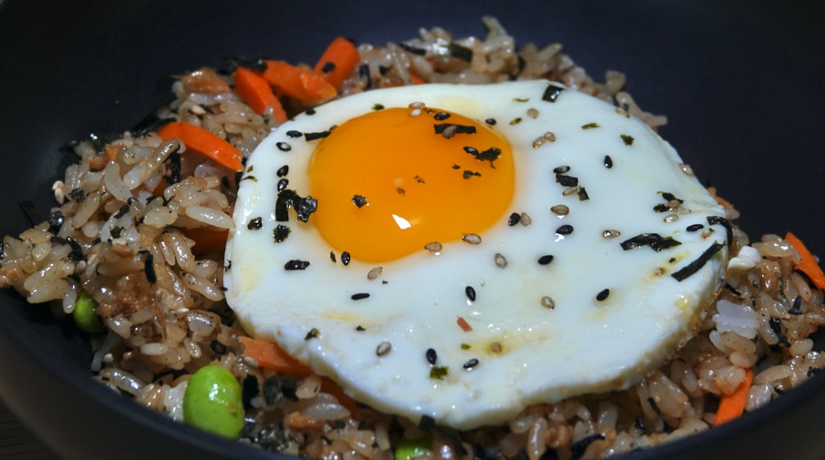 Sep 20: Japanese Fried Rice with Fried Egg(s)