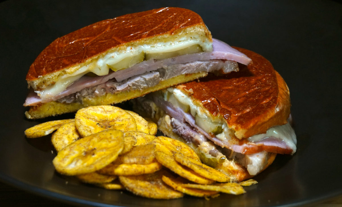 Sep 21: Cubano Sandwich with Jerk Plantain Chips