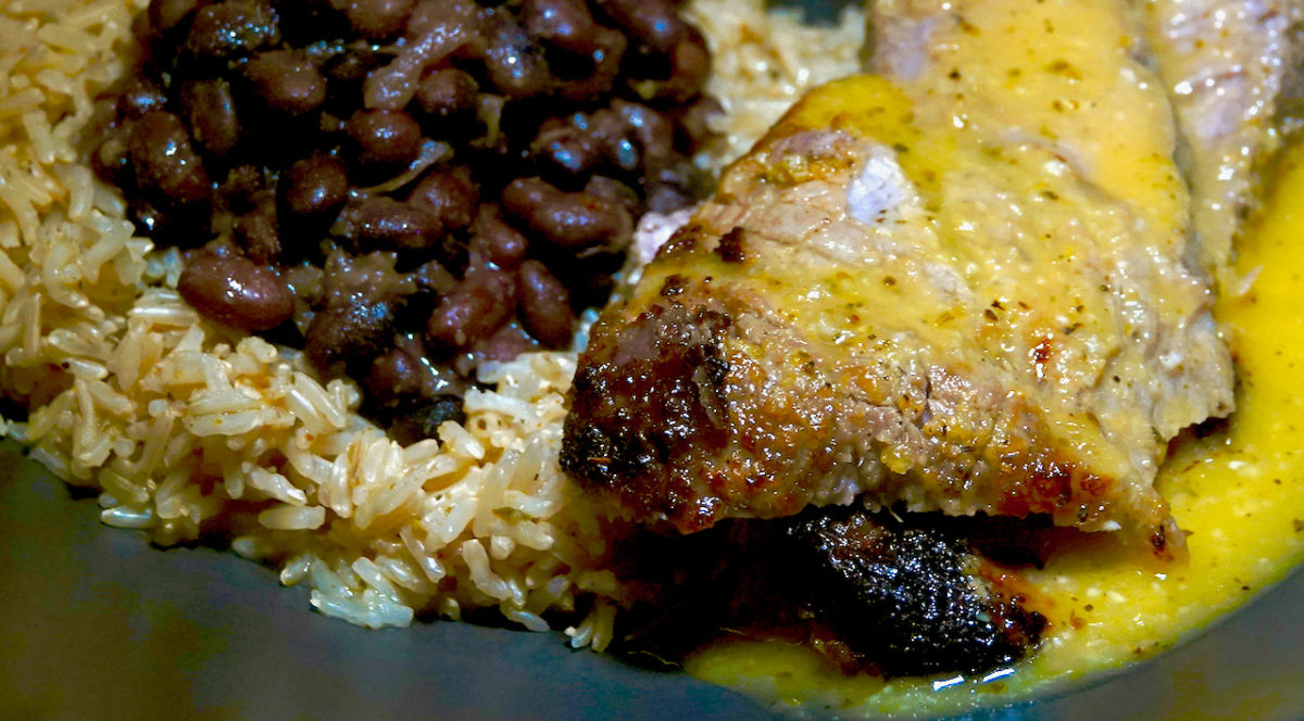 Oct 17: Cuban Style Roast Pork with Black Beans and Brown Rice
