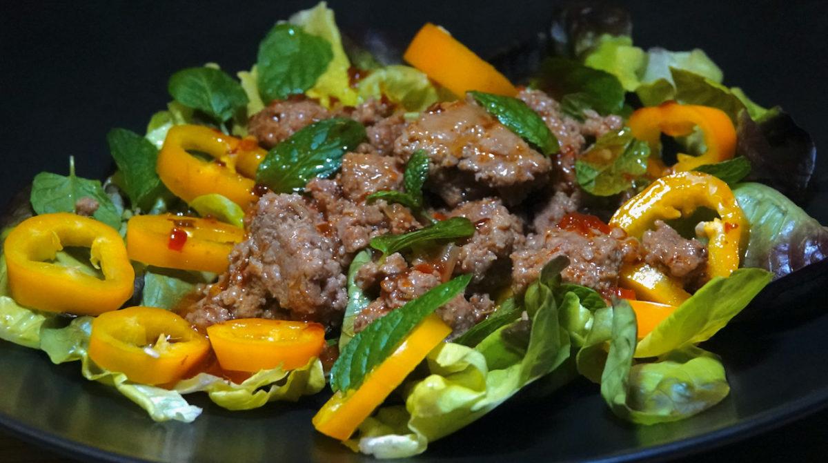 Oct 22: Caramelized Pork Salad